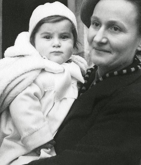 Despite the 12-year age gap, Catherine (pictured above with her mother) and Christian had a very strong bond