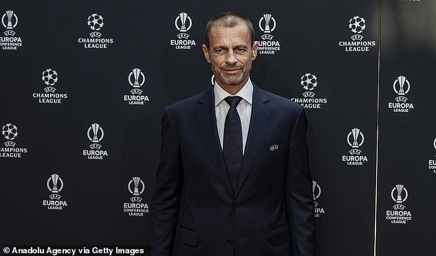 UEFA president Aleksander Ceferin dislikes plans for a World Cup to be held every two years