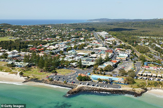 Mr Hayez, 18, was last seen on CCTV leaving a nightclub at 11pm on May 31, 2019 in the hipster New South Wales beachside hideaway town of Byron Bay (pictured) and was never heard from again