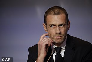 UEFA president Aleksander Ceferin is opposed to the biennial World Cup