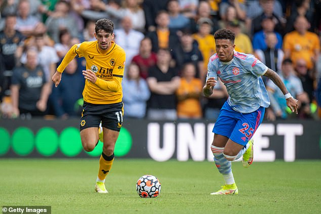 The 21-year-old made his first start for his new side in United's 1-0 victory over Wolves