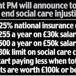 Tax rise to cost worker extra £255 as families reveal they sold homes to settle nursing home bills 💥👩💥