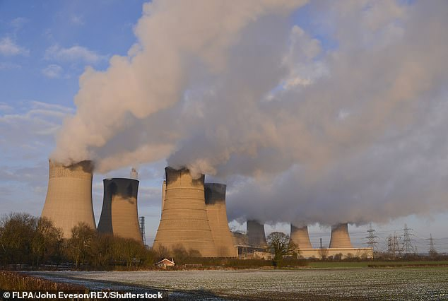 The National Grid was forced to turn on one of its coal-burning power plants to meet energy demands