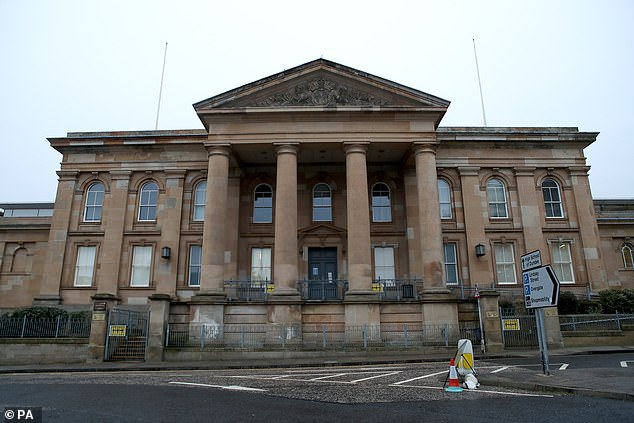 Grant Adam was not present at Dundee Sheriff Court on Monday when the case was held