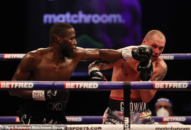 Cruiserweight world champion Lawrence Okolie is fighting on the undercard on September 25