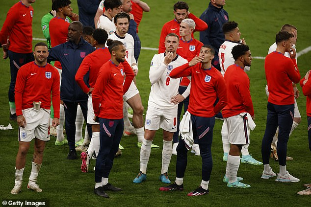England built on their fourth-placed World Cup finish in 2018 by reaching the Euro 2020 final