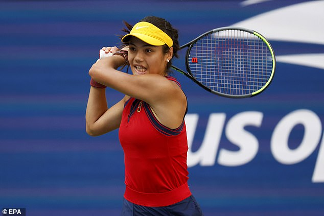 Raducanu could come to the net more, says Wade, who insists she is set for a 'bright future'
