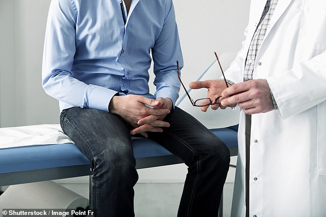 Some 8,000 people in England with hormone-relapsed prostate cancer will be eligible for treatment with apalutamide after it was recommended by a health watchdog (stock image)
