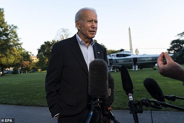 President Joe Biden expressed confidence he'll get Democratic Senator Joe Manchin's vote for his $3.5 trillion budget plan