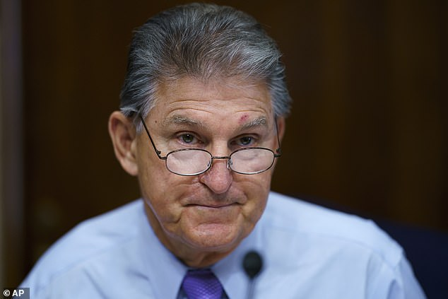 Democratic Senator Joe Manchin called for a 'strategic pause' in spending negotiations, citing its price tag