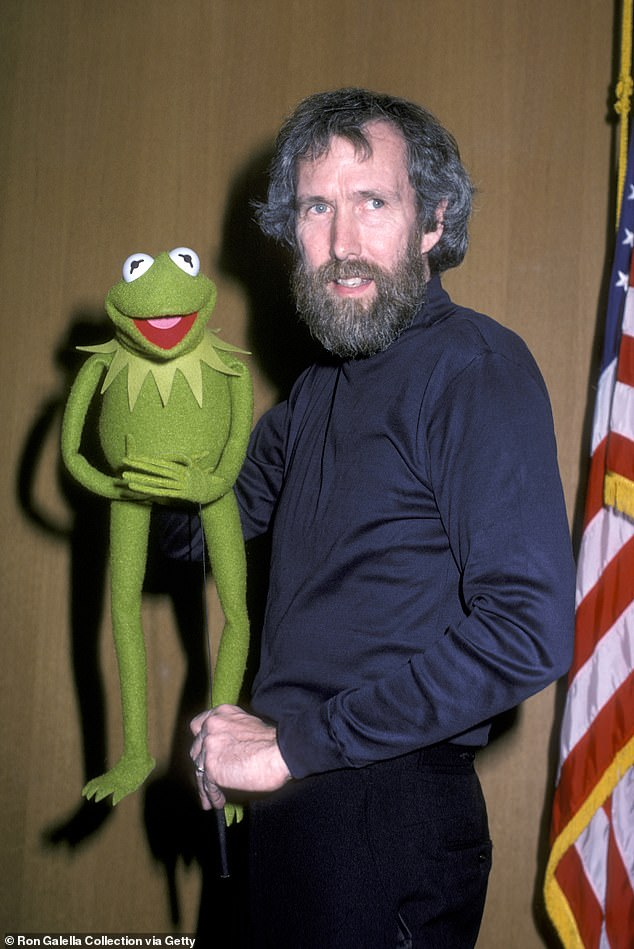 Jim Henson, pictured with Kermit the frog, the American puppeteer who also worked on Sesame Street, moved into 50 Downshire Hill in Hampstead in 1979. He bought the house after The Muppet Show was overlooked by US broadcasters and picked up by British TV