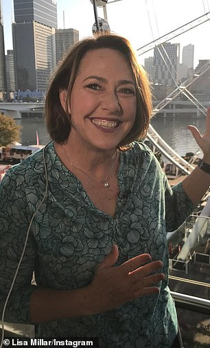 Lisa Millar (pictured) joined the ABC in the 90s and has had spells as USA and Washington correspondent