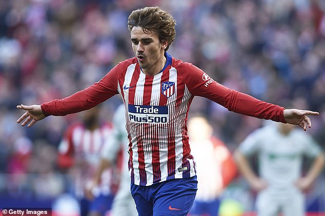 The Frenchman was unable to replicate his sizzling form in Madrid after his £108m transfer