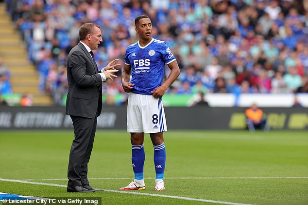 Brendan Rodgers (left) is keen to tie Tielemans (right) down to a new contract at Leciester