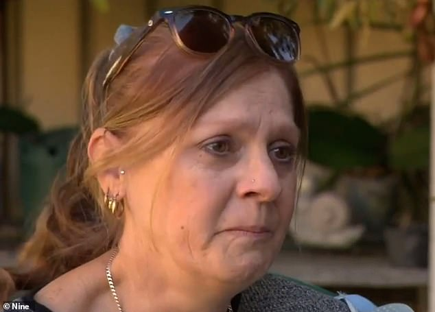 Sharron Bateman (pictured) has been forced to return to work while undergoing radiotherapy for breast cancer after her claim for early super access was rejected