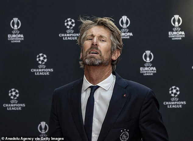 His words were echoed by former Manchester United and Netherlands goalkeeper Edwin van der Sar (pictured)
