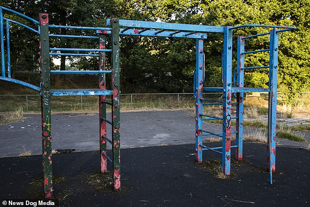 Social media users poked fun at the dilapidated state of equipment comparing it to Chernobyl