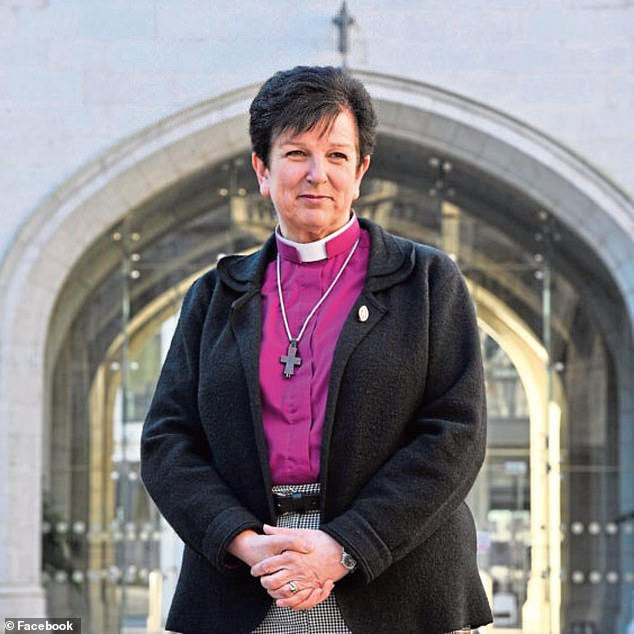 Scotland's first female bishop the Right Rev Anne Dyer, 64, faced growing calls to resign earlier this year amid bullying allegations