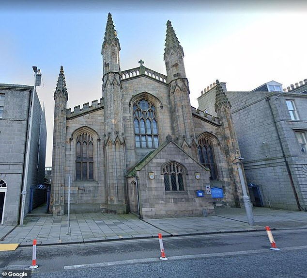 Mr Cromar, director of music at St.Andrew's Episcopal Cathedral in Aberdeen (pictured), told the primus of the Scottish Episcopal Church, the Most Rev Mark Strange, that he would consider legal action