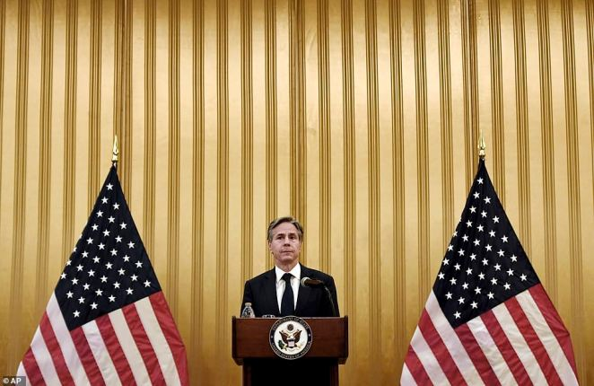 Blinken went to Qatar to thank Afghan translators for their dedication to helping US efforts and Qatari officials for their willingness to help with the evacuation