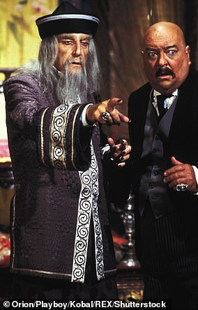 Peter Sellers in The Fiendish Plot Of Dr Fu Manchu, 1980