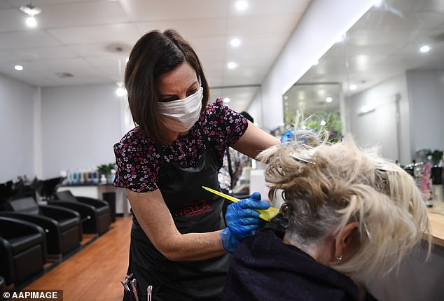 Fully vaccinated Sydneysiders will finally be able to get a haircut after almost 12 weeks in lockdown on October 18