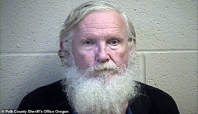 On Tuesday, Brian Clifton, 68, (pictured) was arraigned on first-degree murder in Polk County, for the 1996 murder of his wife Kathy Thomas