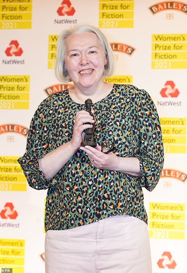 Susanna Clarke (pictured) won the £30,000 Women's Prize for Fiction for her latest work, Piranesi. It was published last year and is around 250 pages