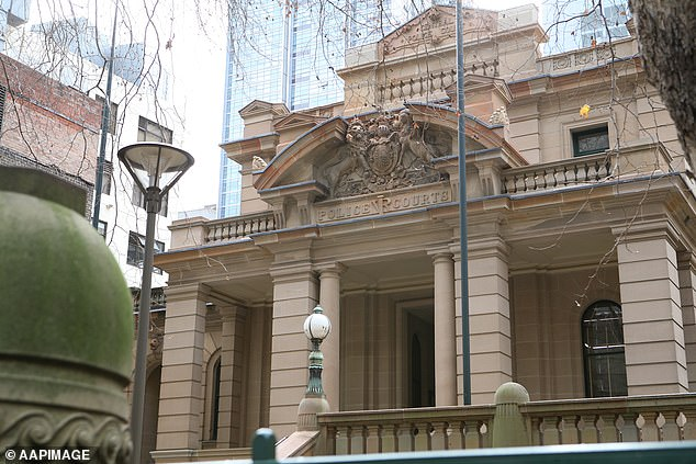Smith had been facing Central Local Court (above) in Sydney's Liverpool Street for a marathon committal hearing over seven murder charges when an apparent attempt was made to kill him