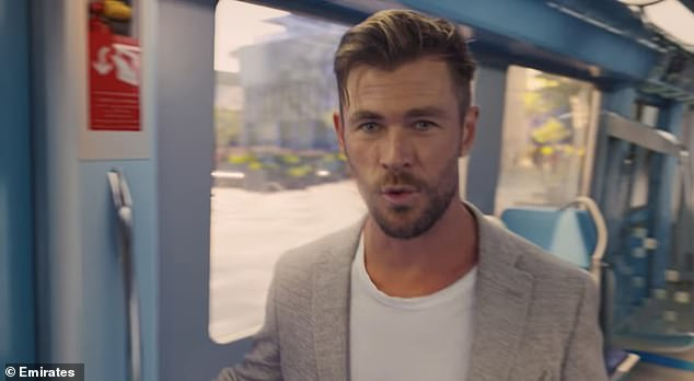 Declined:It comes after Chris reportedly declined to appear in a star-studded advertising campaign promoting the Covid-19 vaccine in Australia