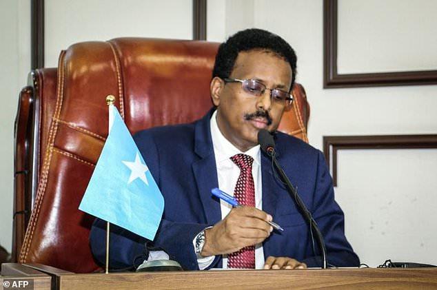 President Mohamed Abdullahi Mohamed's mandate was extended in April, setting off gun battles in the streets of Mogadishu