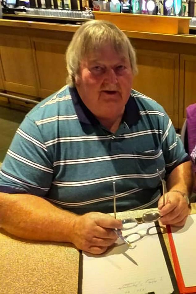 The bodies of sheep farmer Mossie O'Sullivan, 63, (pictured) his partner Eileen, 56, and their adult son, Jamie, 24, were discovered at home near Lixnaw, County Kerry on Tuesday evening