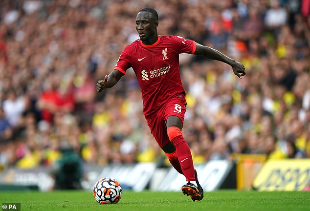 Naby Keita is back in Liverpool having left Guinea in the midst of a military coup in the country