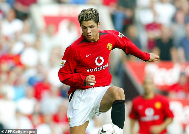 Ronaldo played 29 minutes off the bench and went on to terrify his opponents at Old Trafford