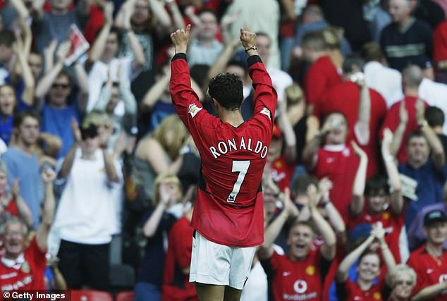 His return to United completes the circle, and Ronaldo is now a five-time Ballon d'Or winner