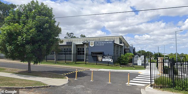 A 13-tear-old female student at St Thomas More College at Sunnybank, Brisbane tested positive for Covid, forcing all students at the school to be sent home on Friday