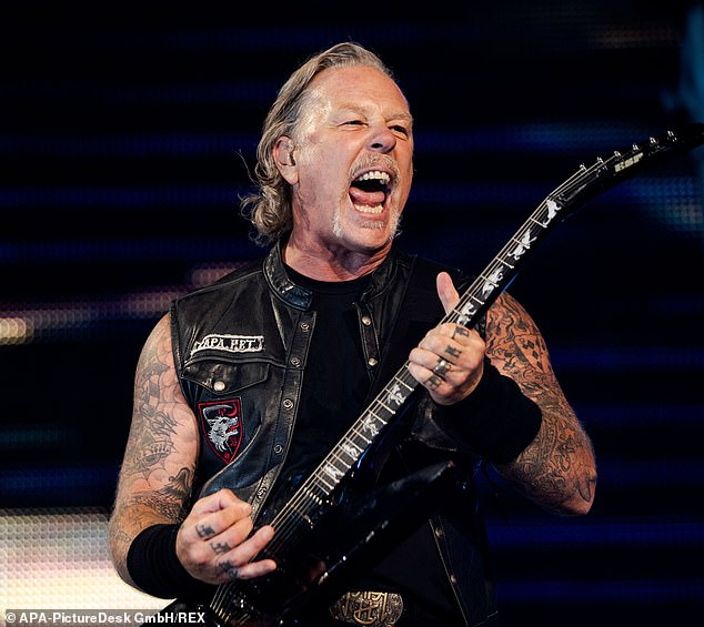 James Hetfield of Metallica in concert in Vienna in 2019.In 2007, a Swedish couple successfully had a ruling overturned after the tax agency initially rejected the name Metallica for their daughter.