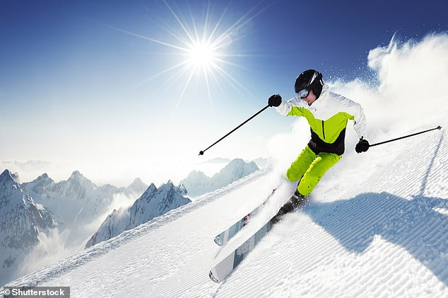 While the study specifically looked at skiing, any forms of exercise are likely to slash anxiety, the research suggests