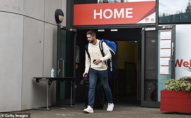 The announcement followed a day of uncertainty and confusion with India cancelling their training session at Old Trafford. Pictured: Chris Woakes