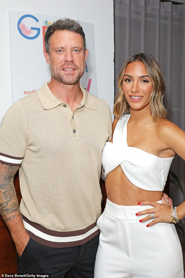 Oh no: Frankie's exit comes after she recently admitted her husband Wayne Bridge cried for almost a month after they tied the knot in July 2014 (pictured in August this year)