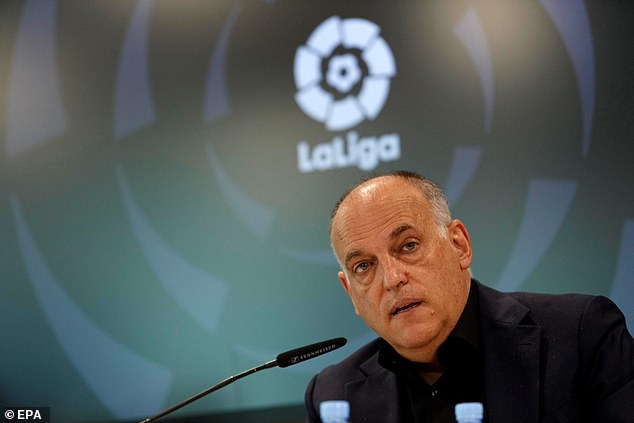 LaLiga chief Javier Tebas sees the plans as 'a threat to the overall tradition of world football'