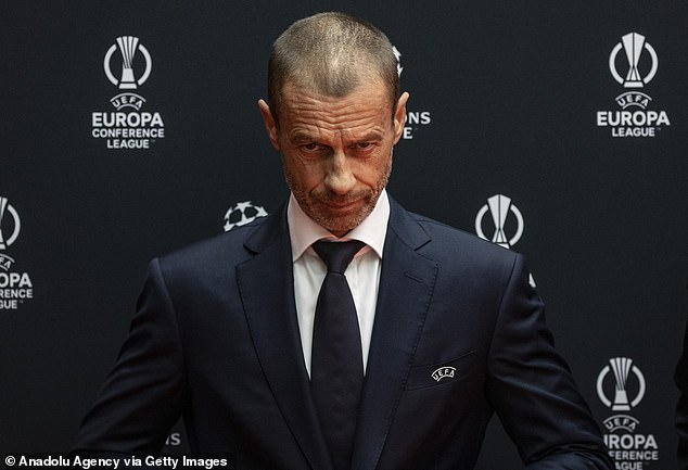 UEFA president Aleksander Ceferin has suggested that European sides could stage a boycott