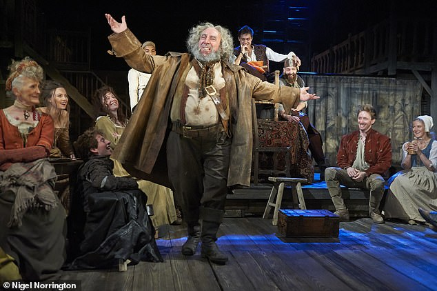 Henry IV Part I and II by William Shakespeare and directed by Gregory Doran at the Royal Shakespeare Theatre Royal Shakespeare Company