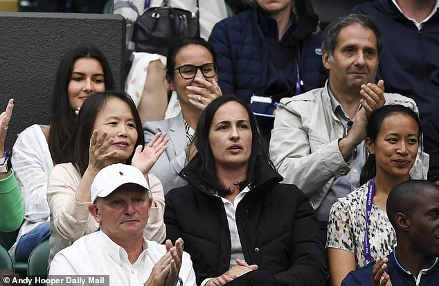 Emma Raducanu's parents Ian (top right) and Renee (bottom left) have remained incognito but they have been hugely influential in their daughter's journey