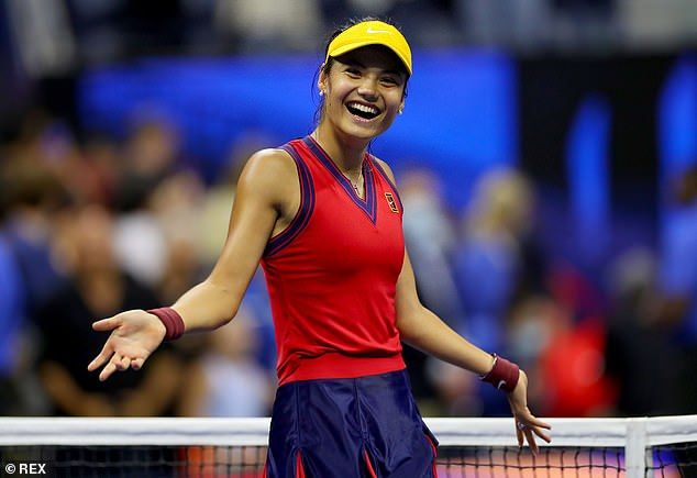 If Emma Raducanu can beat Leylah Fernandez she will join the legends of the game as a US Open champion