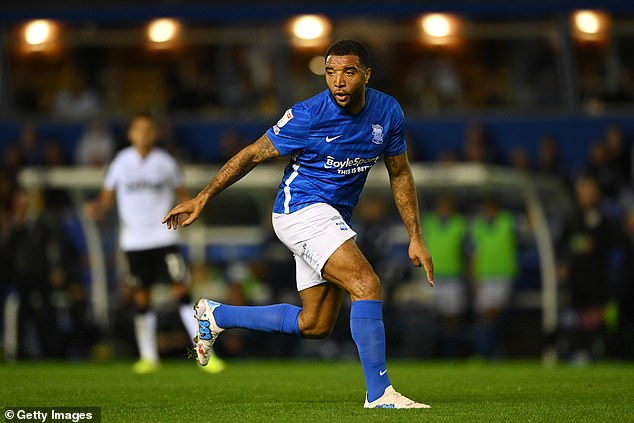 Troy Deeney made his debut for Lee Bowyer's side after an impressive 11 years at Watford