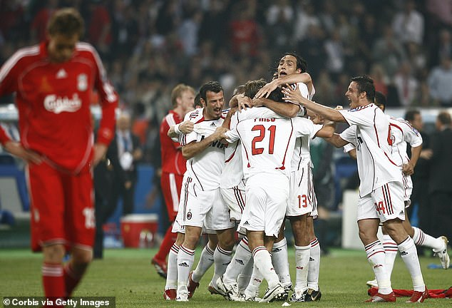 The two sides have shared victories in Champions League finals in 2005 and 2007 respectively