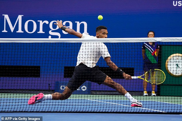 Auger-Aliassime, 21, gave Medvedev a scare in the second set but made too many errors