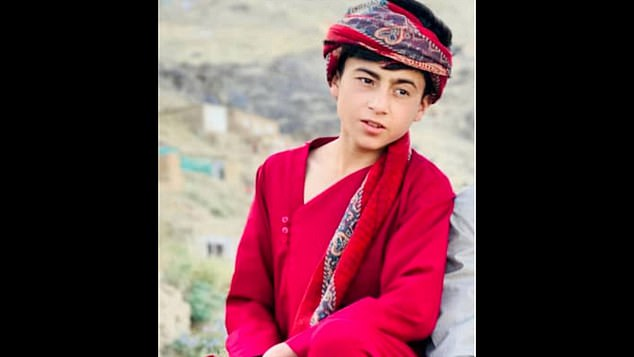 Faisal Ahmadi, 16, was among the seven children that witnesses say were killed in the strike