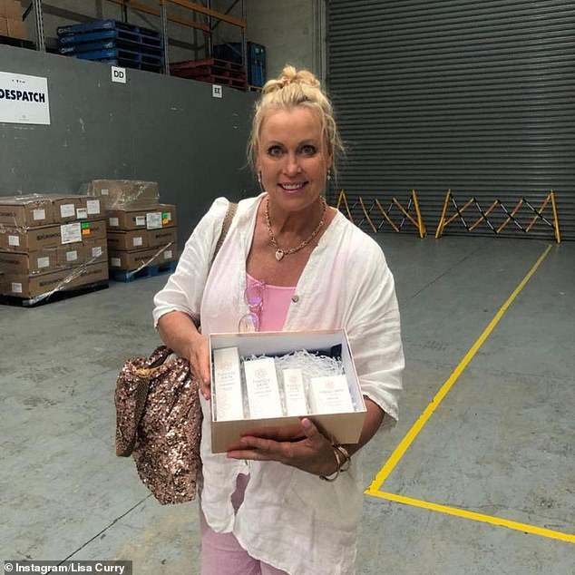 Inspired:'I thought oh my god, this is the start and realised that my lifestyle had finally caught up with me. Nearly 60 years of being in the harsh Australian sun and chlorine had taken its toll,' she said